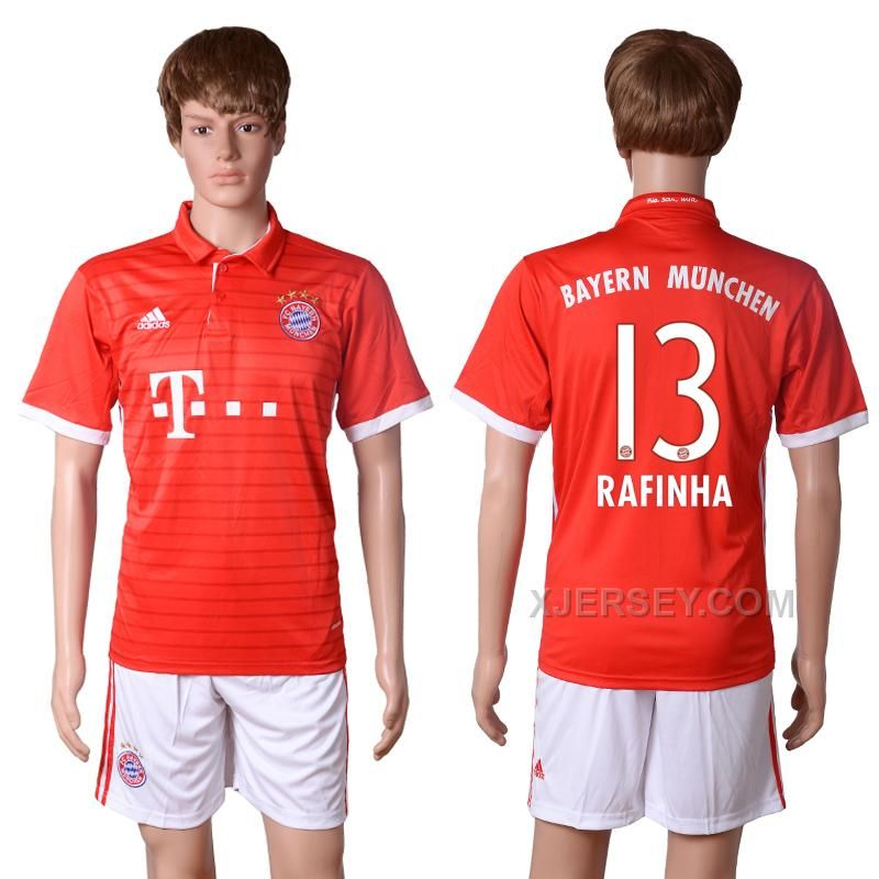 bayern munchen bernat home soccer club jersey