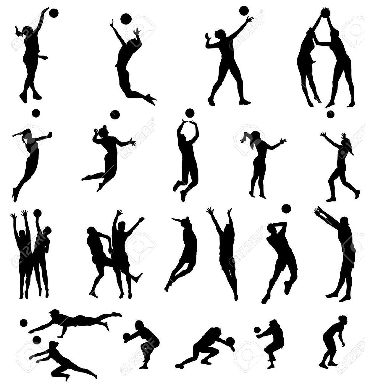 Lujoso Voleibol Para Colorear Adorno - Dibujos Para Colorear En ...