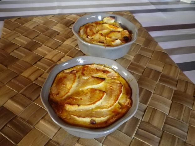 Recette - Gratins de pomme à la vanille | 750g | Recette ...