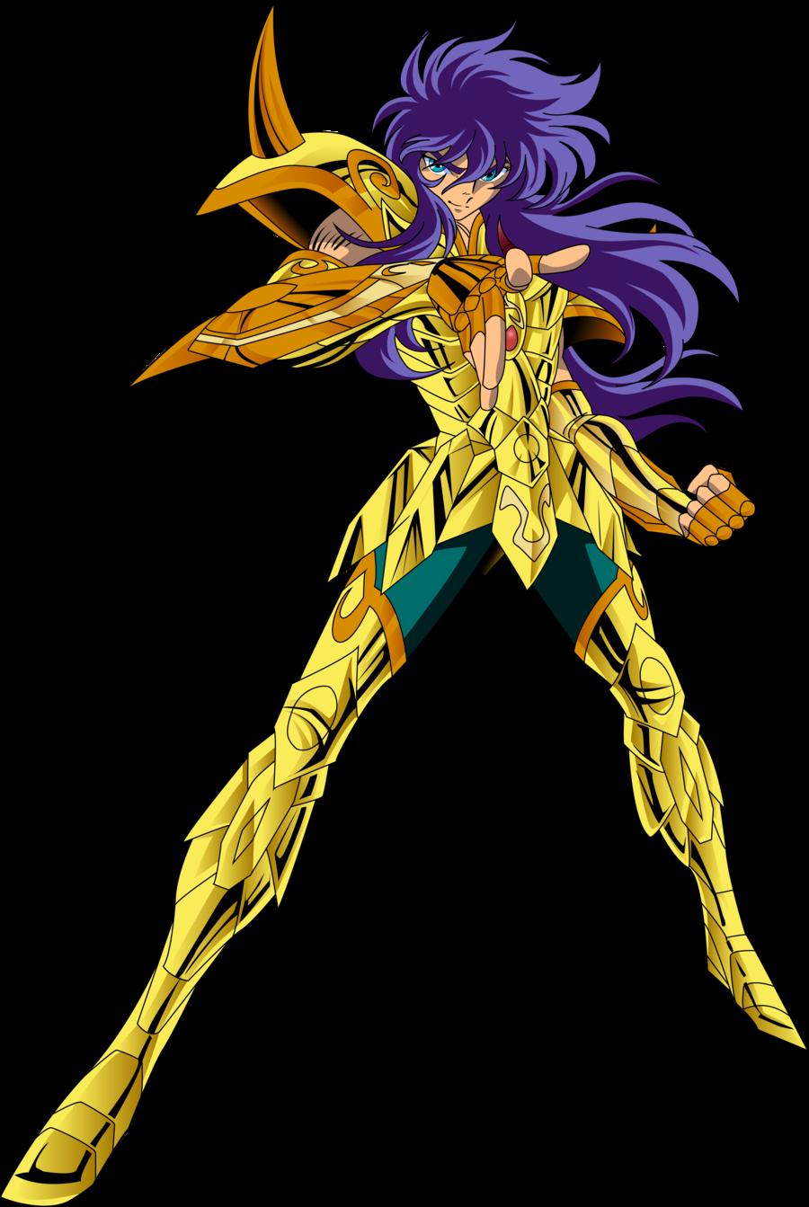 Dibujo De Un Escorpion Dorado milo de escorpio. caballero dorado. saint seiya (png