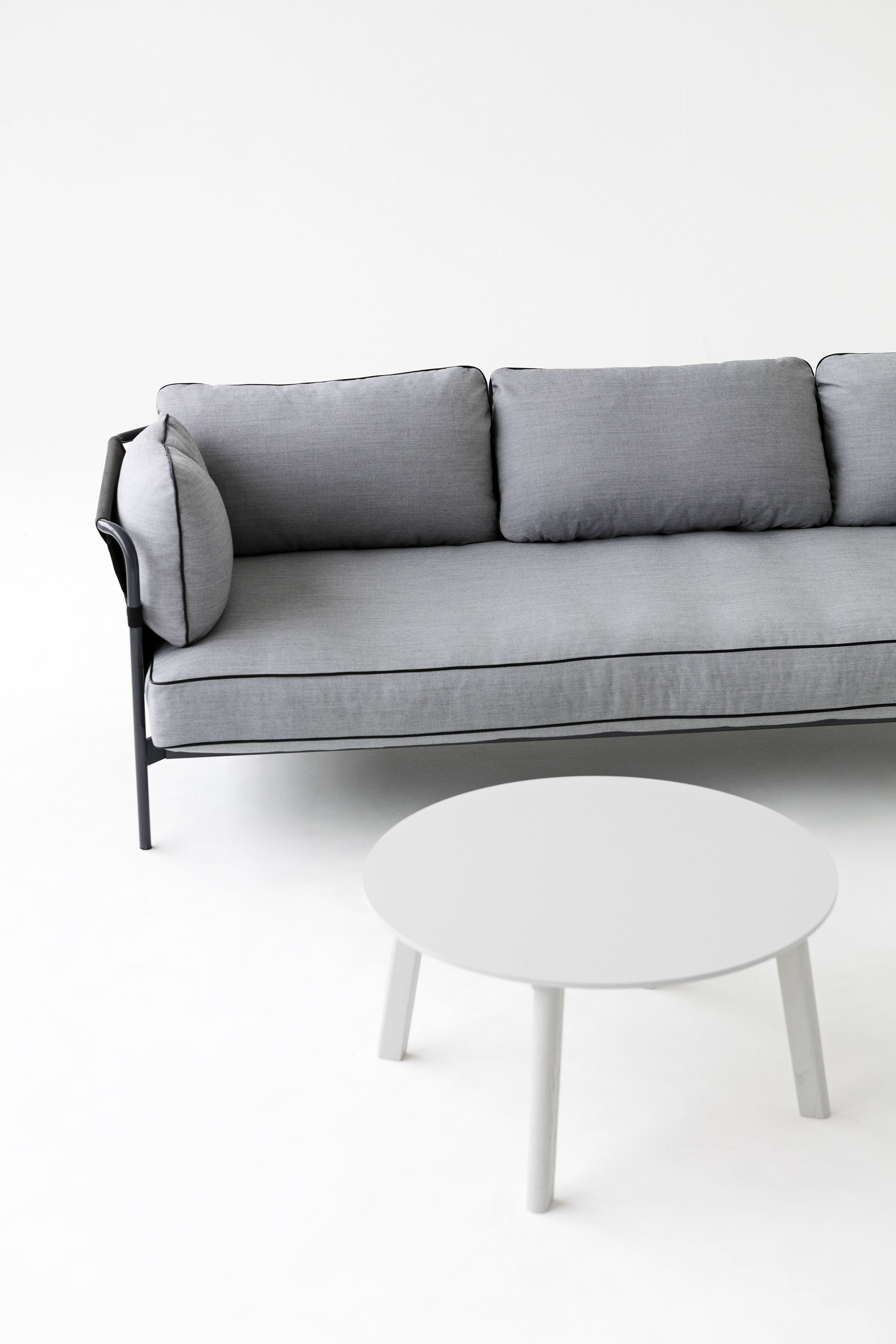 Can 3 seater sofa and CPH Deaux side table.