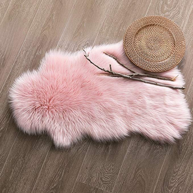 Amazon.com: Ashler Soft Faux Sheepskin Fur Chair Couch