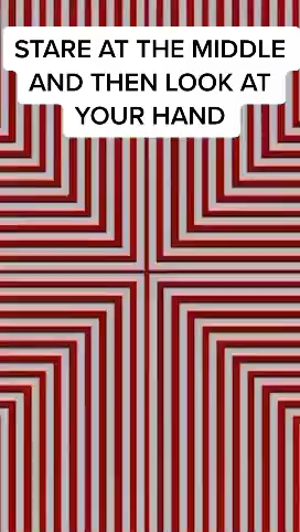 Your hand will look like it's moving 👁