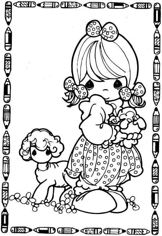 shepherdess precious moments coloring pages coloring pages
