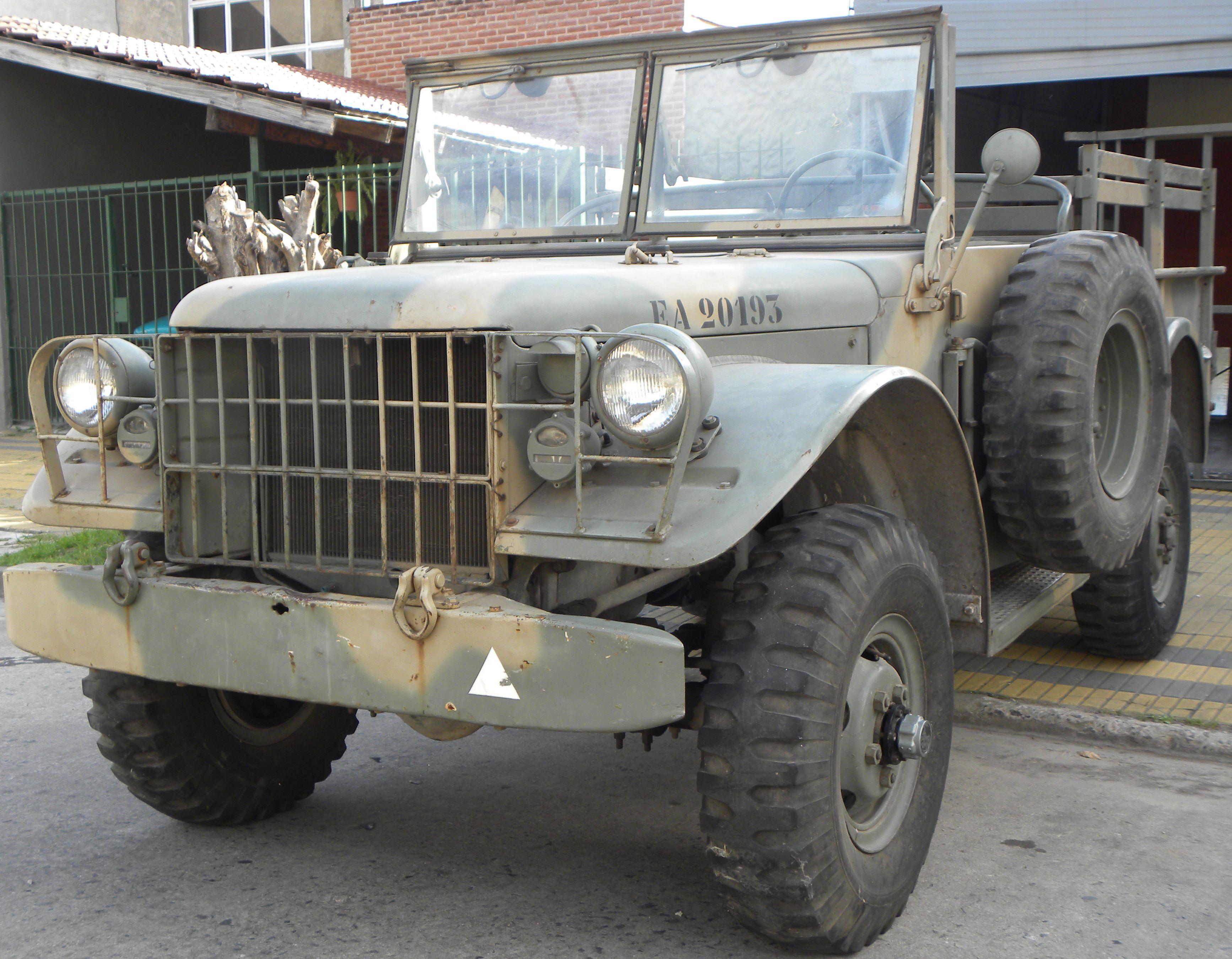 Excelente Dodge M37-B1 4x4. Fabricado, según número de chasis en ...