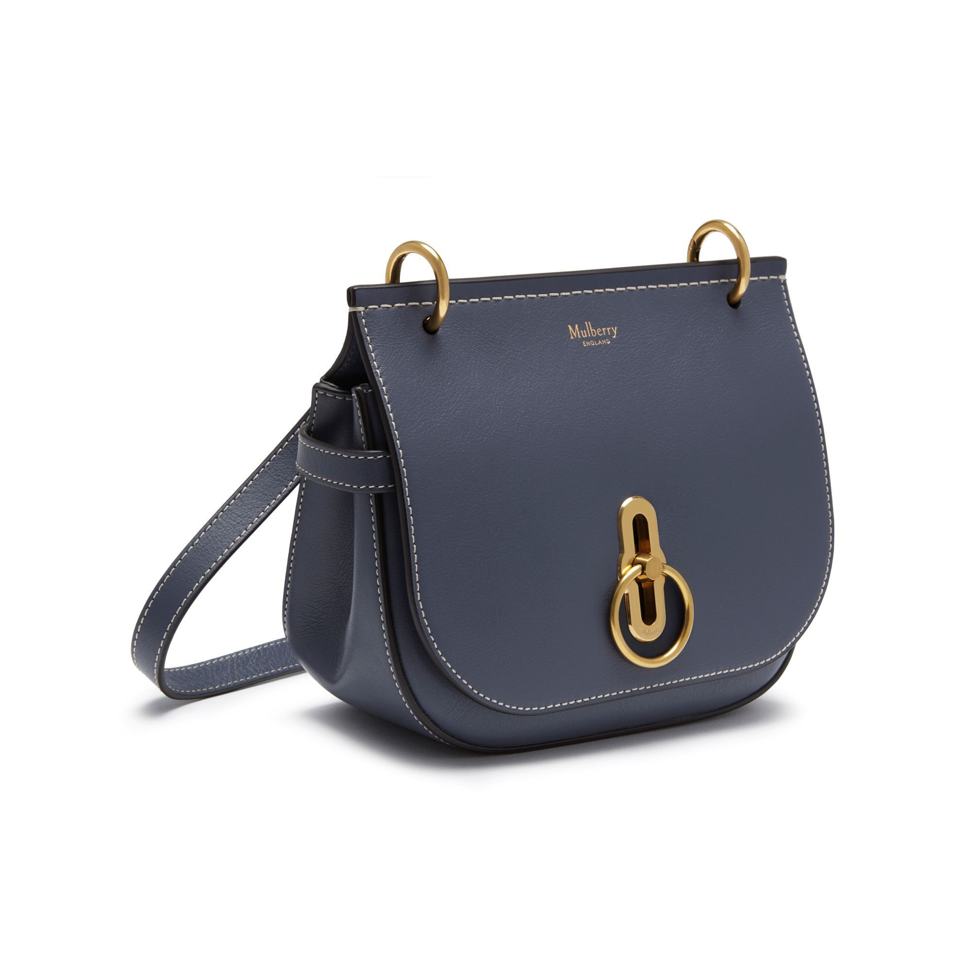 a9a8196076 Shop the Small Amberley Satchel in Elephant Silky Calf Leather at Mulberry.com.  Inspired