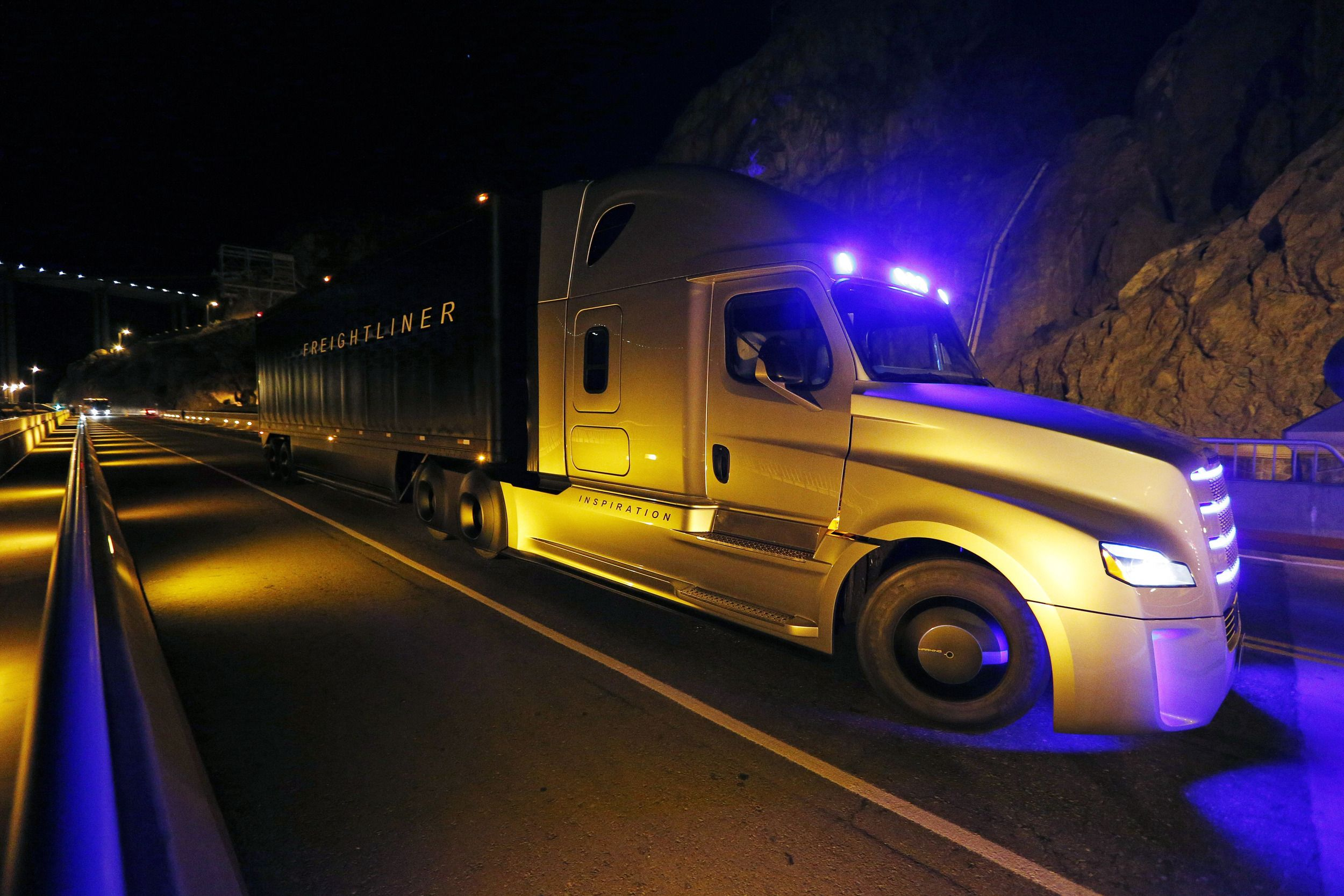 World's First Autonomous Truck Goes Into Operation