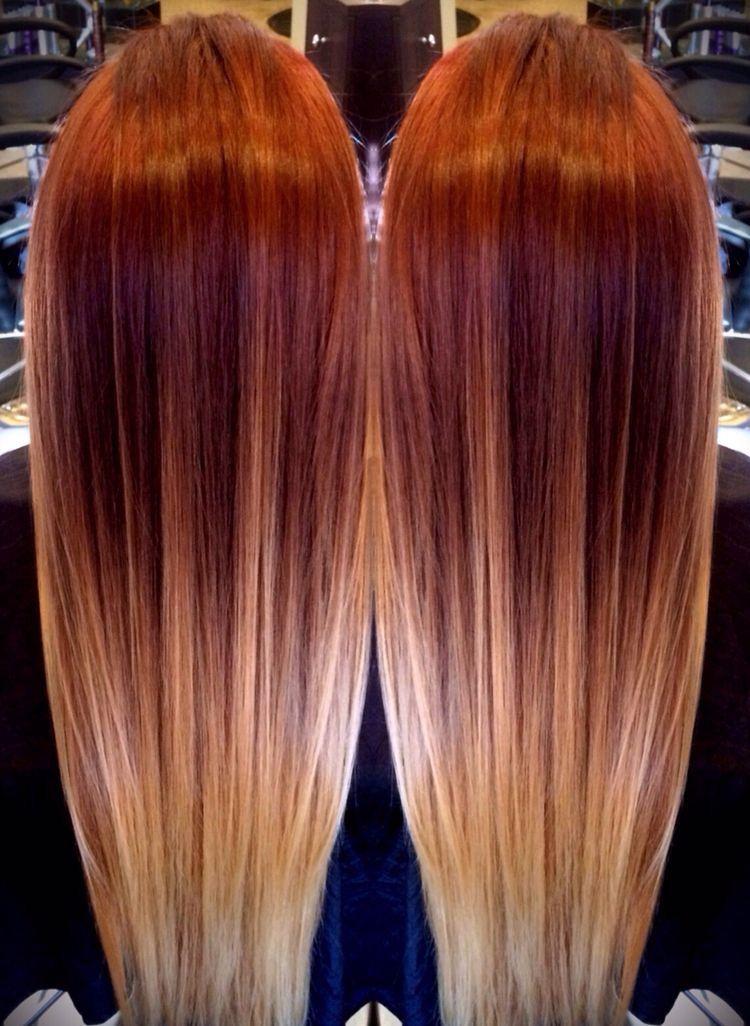 ombr love the color hair pinterest haar ideen ombr haare und haarschnitt lange haare. Black Bedroom Furniture Sets. Home Design Ideas