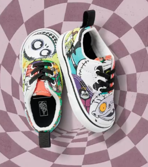 New Nightmare Before Christmas Vans Styles Revealed Vans Style Disney Shoes Vans