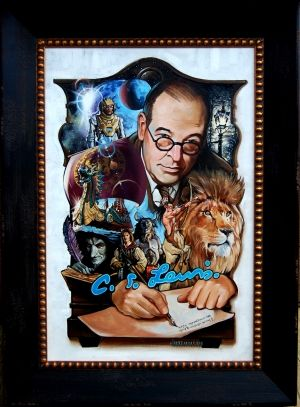 """""""The Mind of C.S.Lewis-A Wardrobe of Imagination"""" by Jim Hutchinson"""