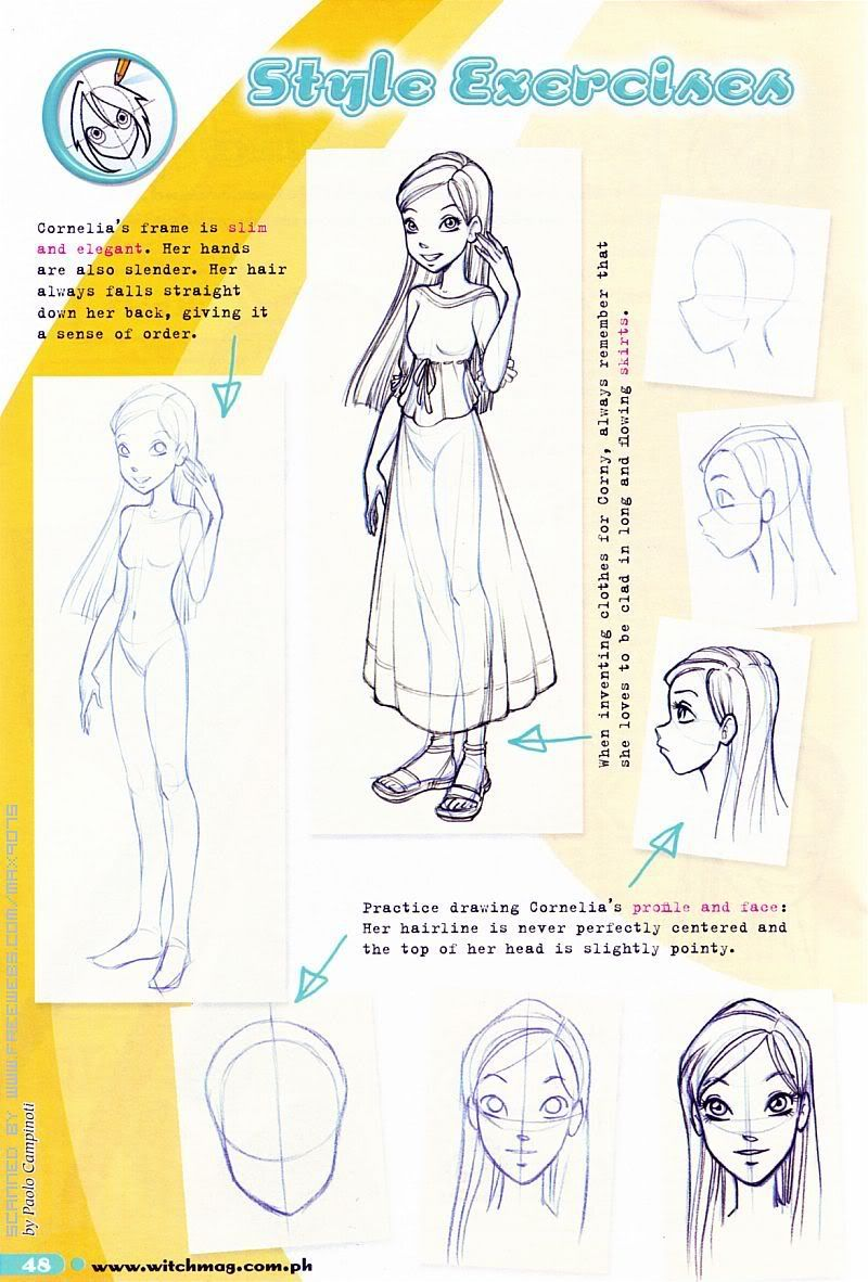Concept art of Cornelia Hale from W.I.T.C.H. | Character Design ...