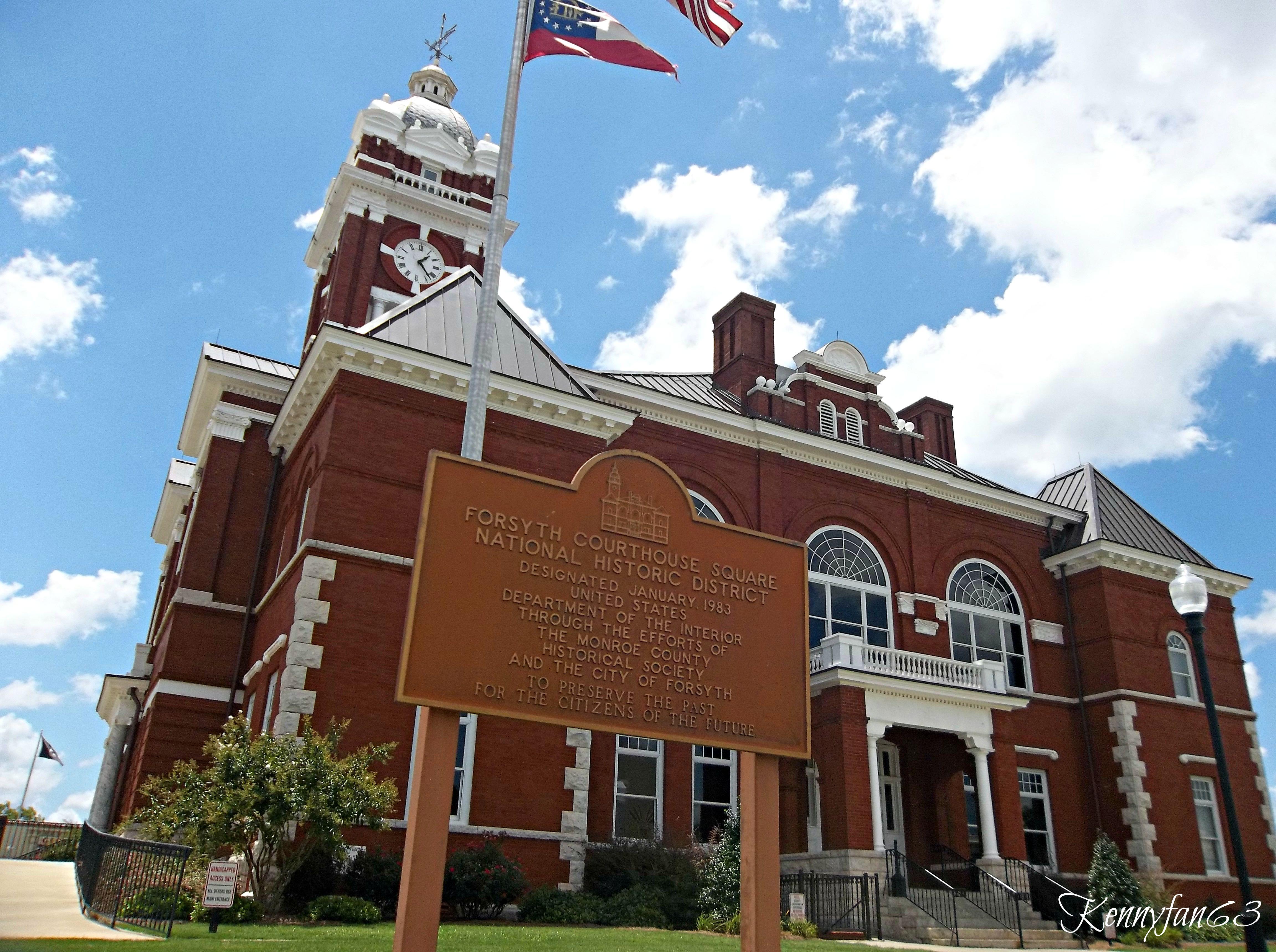 Forsyth Georgia / Monroe County Courthouse | Forsyth Georgia