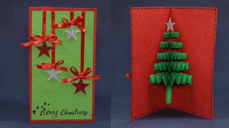Decorazioni Natalizie Per Biglietti Di Auguri.Biglietti Auguri Natale Busta Cartoncino Realizzati Tecnica Fai Da Te Albe Biglietti Di Natale Fai Da Te Biglietti Di Auguri Fatti A Mano Cartolina Buon Natale