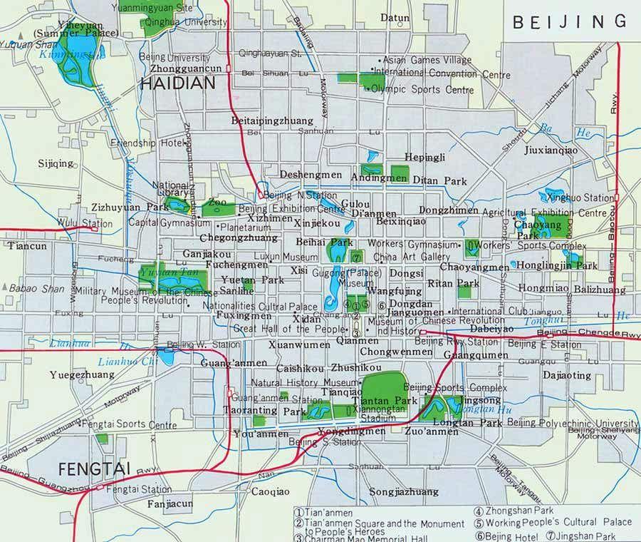 Beijing City Subway Map.Beijing City Map Trips To Take Beijing Map Beijing Subway