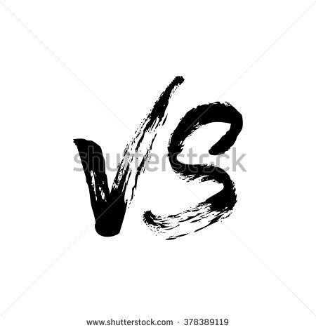 Versus Logo Vs Logo Versus Icon Stock Illustration 378389119 Shutterstock Vs Logo V Letter Images Stock Illustration
