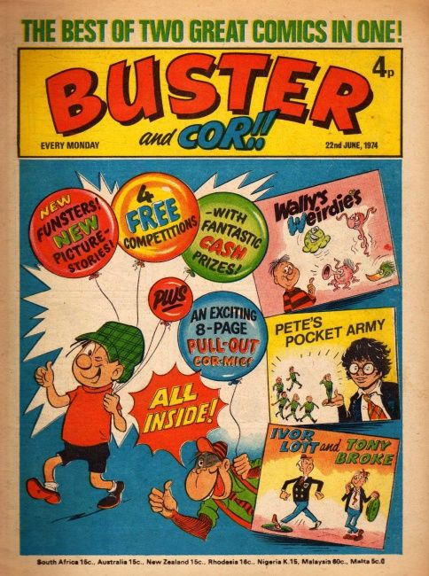 Buster.  This was when it merged with Cor!!
