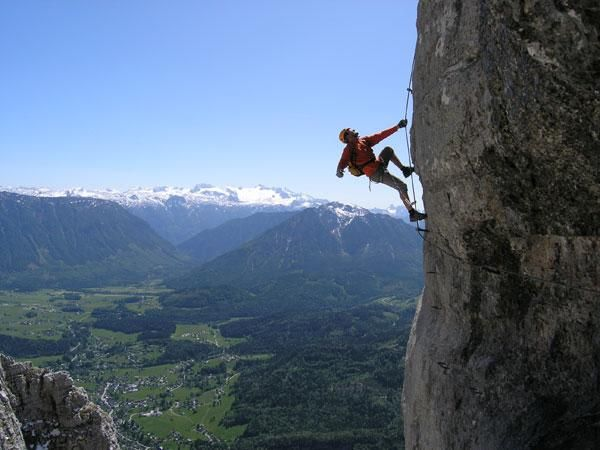 Klettersteig Loser : Loser klettersteig austria june i can t believe the