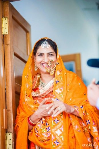 A Vintage Chic Patiala Wedding Drenched In Color Heritage