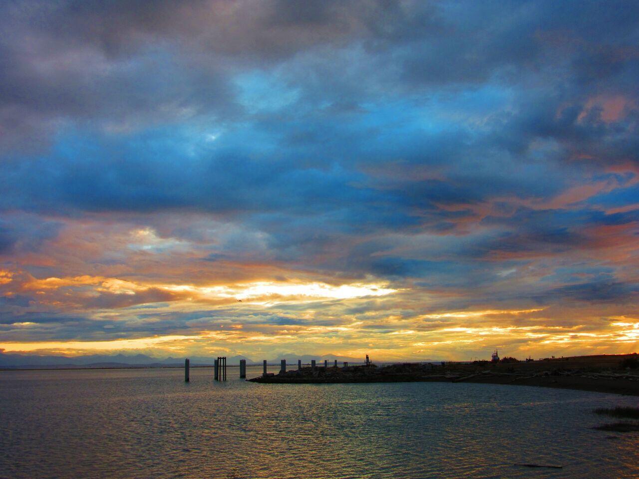 Garry Point Richmond Point richmond, Clouds, Scenery