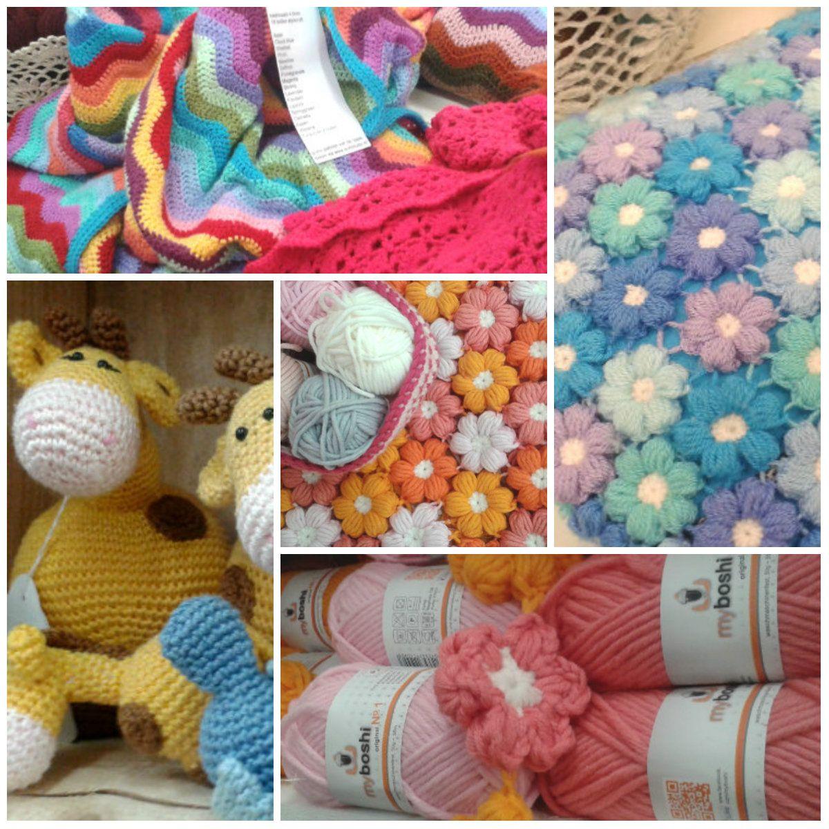 Crochet inspiration | Happy in Red