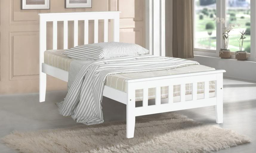 Best White Timber Bed Google Search White Wooden Bed King 400 x 300