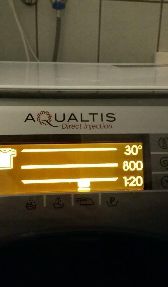 Scheda Display Lavatrici Aqualtis Hotpoint Codici Errore