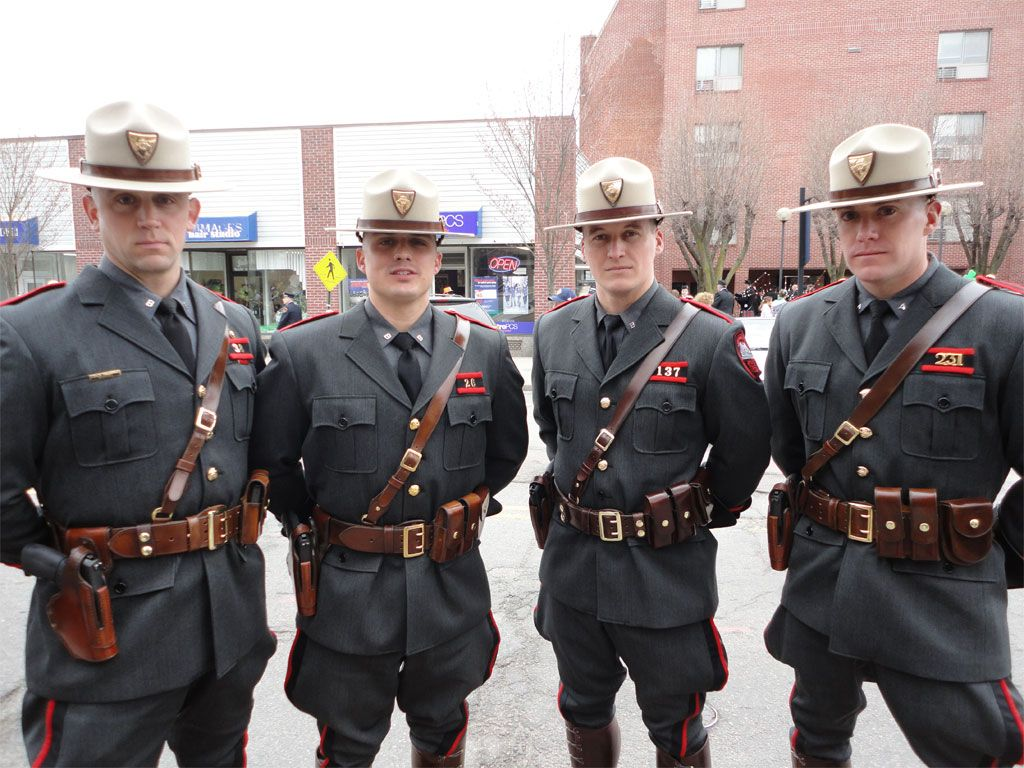 The Rhode Island State Police Was Honored This Year For