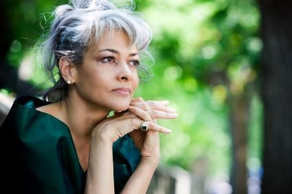 hairstyles for seniors with fine thin hair Photo Gallery