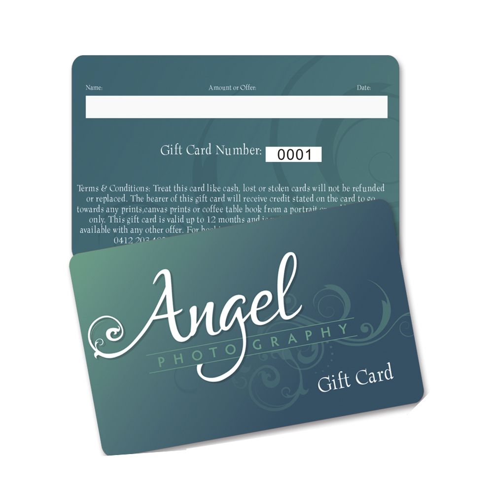 Gift Card Printing Custom Cards