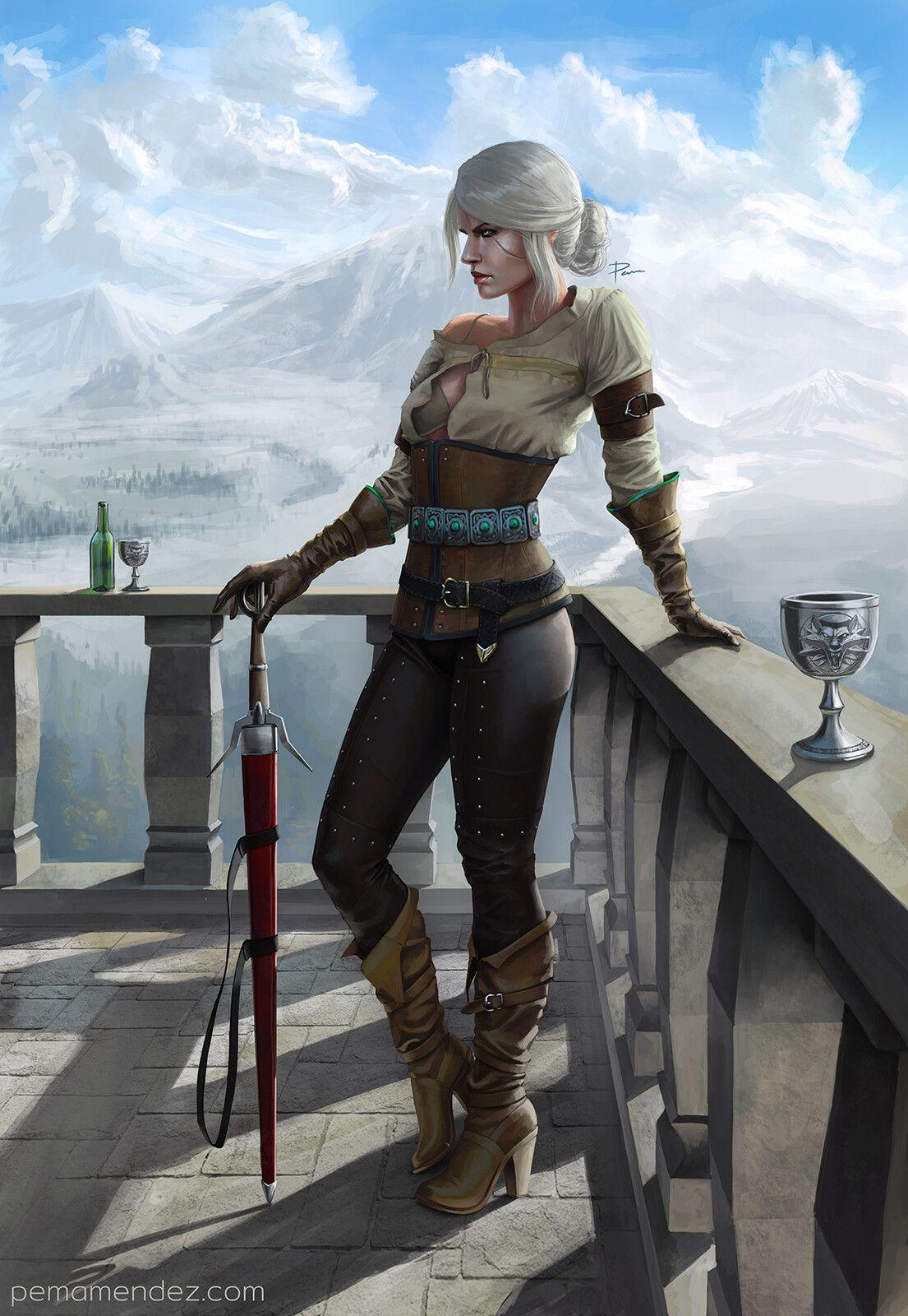 Ciri Emanuel Mendez On Artstation At Https Www Artstation Com Artwork Nqbeyo The Witcher The Witcher Game Ciri Ciri witcher 3 hd games artwork