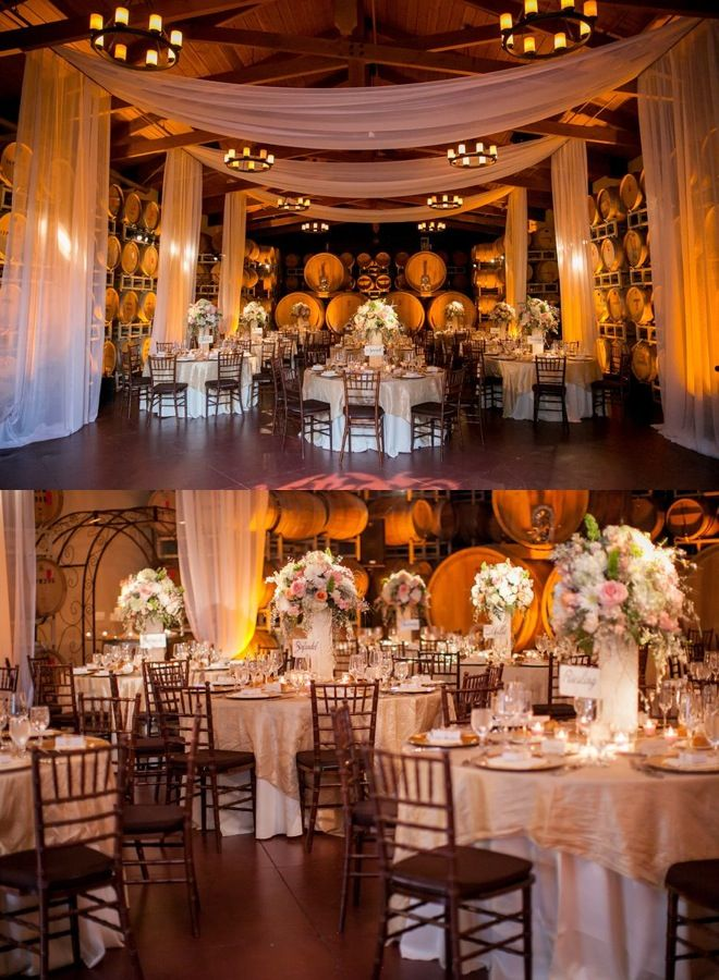 wedding venues on budget in california%0A The soft romantic color palette  the fabulous draping at reception  the  stunning decor details with chic rustic touches  this California wedding  just