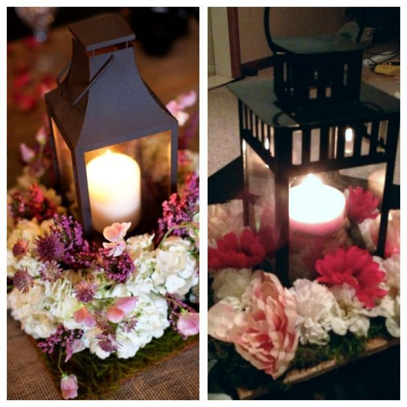 Diy Lantern Centerpieces - Easy Craft Ideas