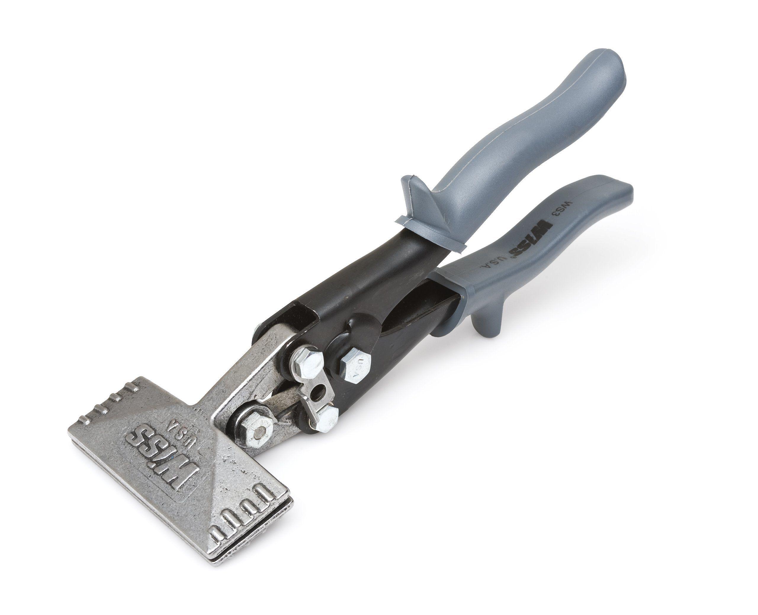 Wiss Ws3 3 Inch Straight Handle Hvac Hand Seamer Power Hand Tools Hand Tools Tools