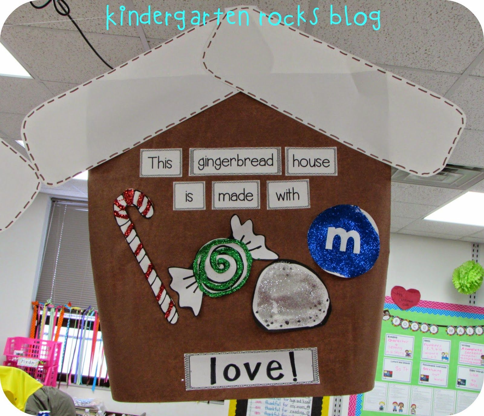 Kindergarten Rocks Gingerbread Centers