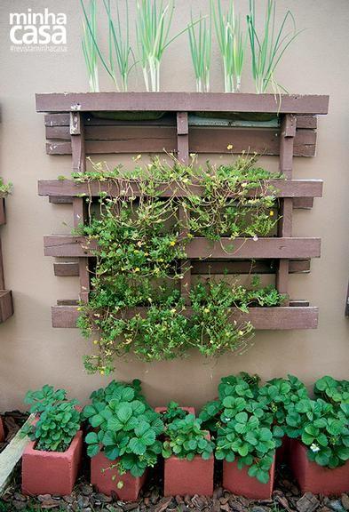 Revista MinhaCASA - Um Jardim feito com blocos de concreto