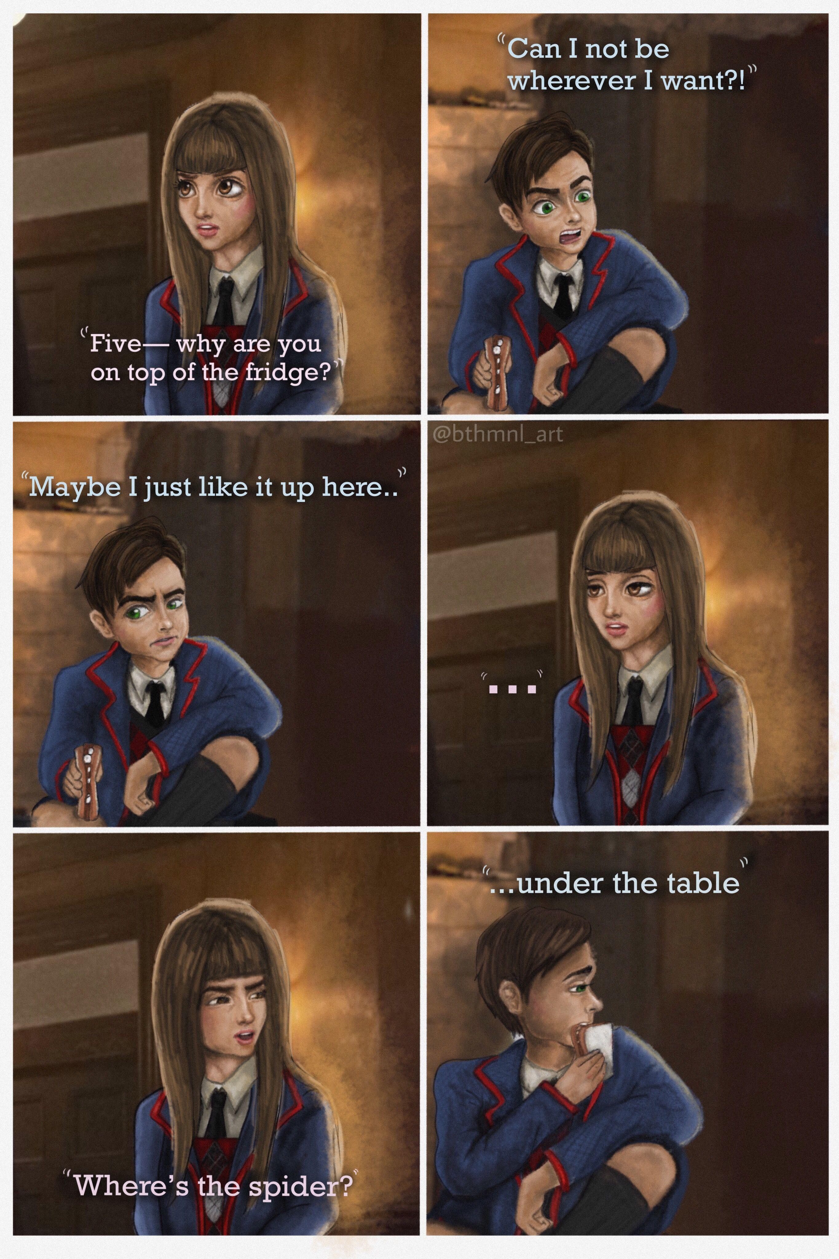 Vanya And Five Meme Scene