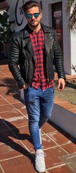55 Chic Ways to Wear Leather wachabuy.com