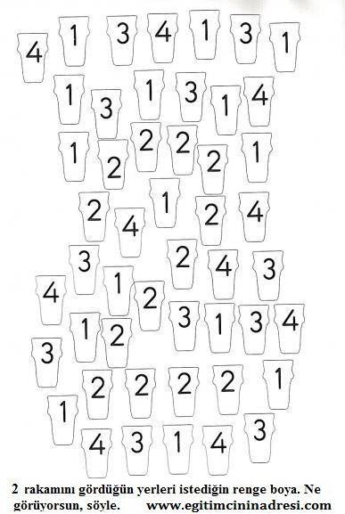 Matematik Etkinlikleri Okuloncesi Sanat Ve Fen Etkinlikleri