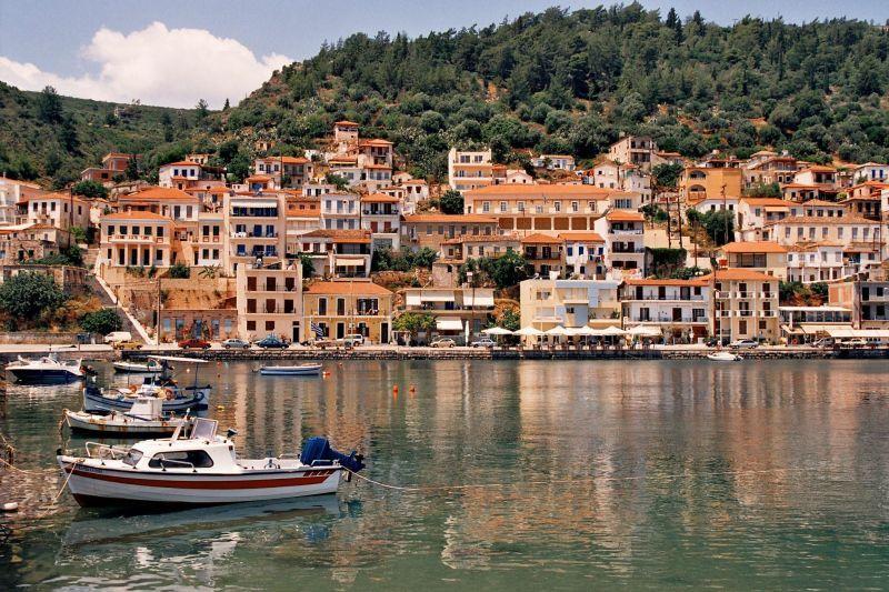 Warm colors of Gythio (Lakonia pref.) in Peloponnese