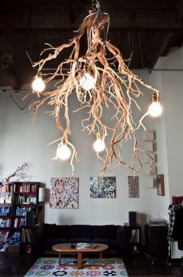 85 Good Creative DIY Chandelier Lamp & Lighting Ideas   Diy