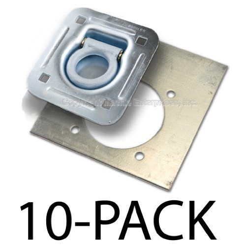 Recessed D Ring 6 000 Lb Cap Tiedown W Backing Plate 10 Pack By