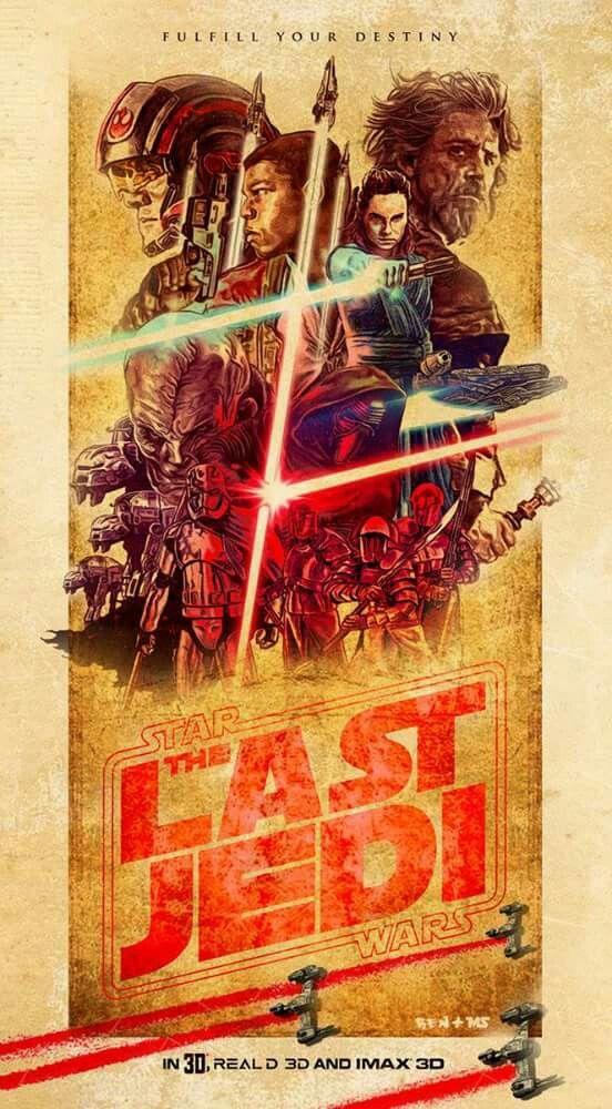 The Last Jedi By Matthew Spurlock Star Wars Painting Star Wars Poster Star Wars Art