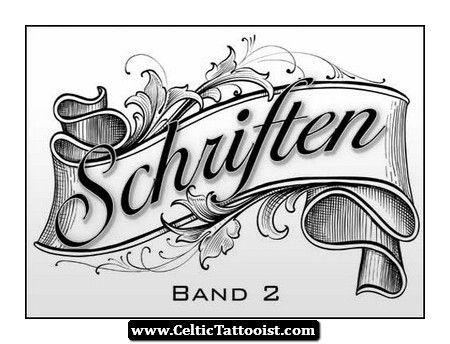 Celtic Font Tattoo Irish Gaelic Tattoo Fonts   Crafts