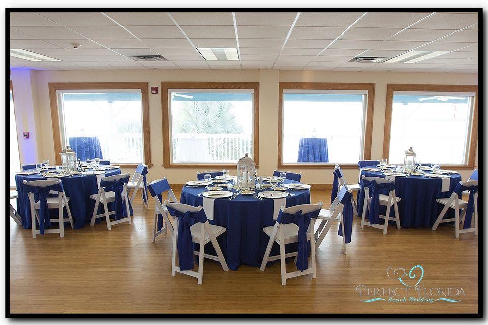 Tampa Bay Watch Wedding Reception