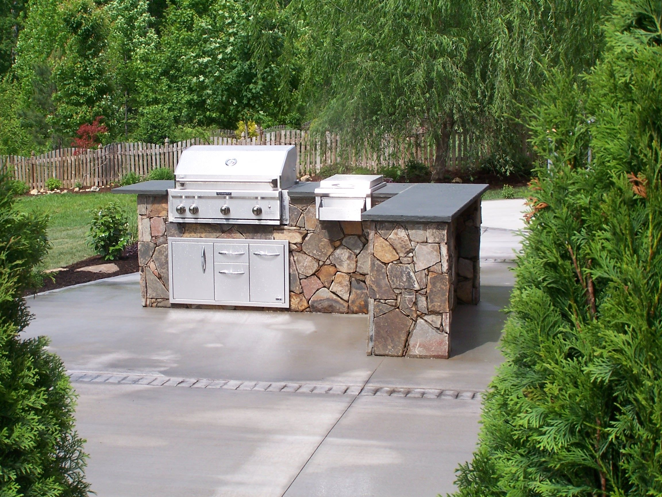 Outdoor Barbecue Kitchen Designs Outdoor Kitchens This Aint My Dads Backyard Grill Dads