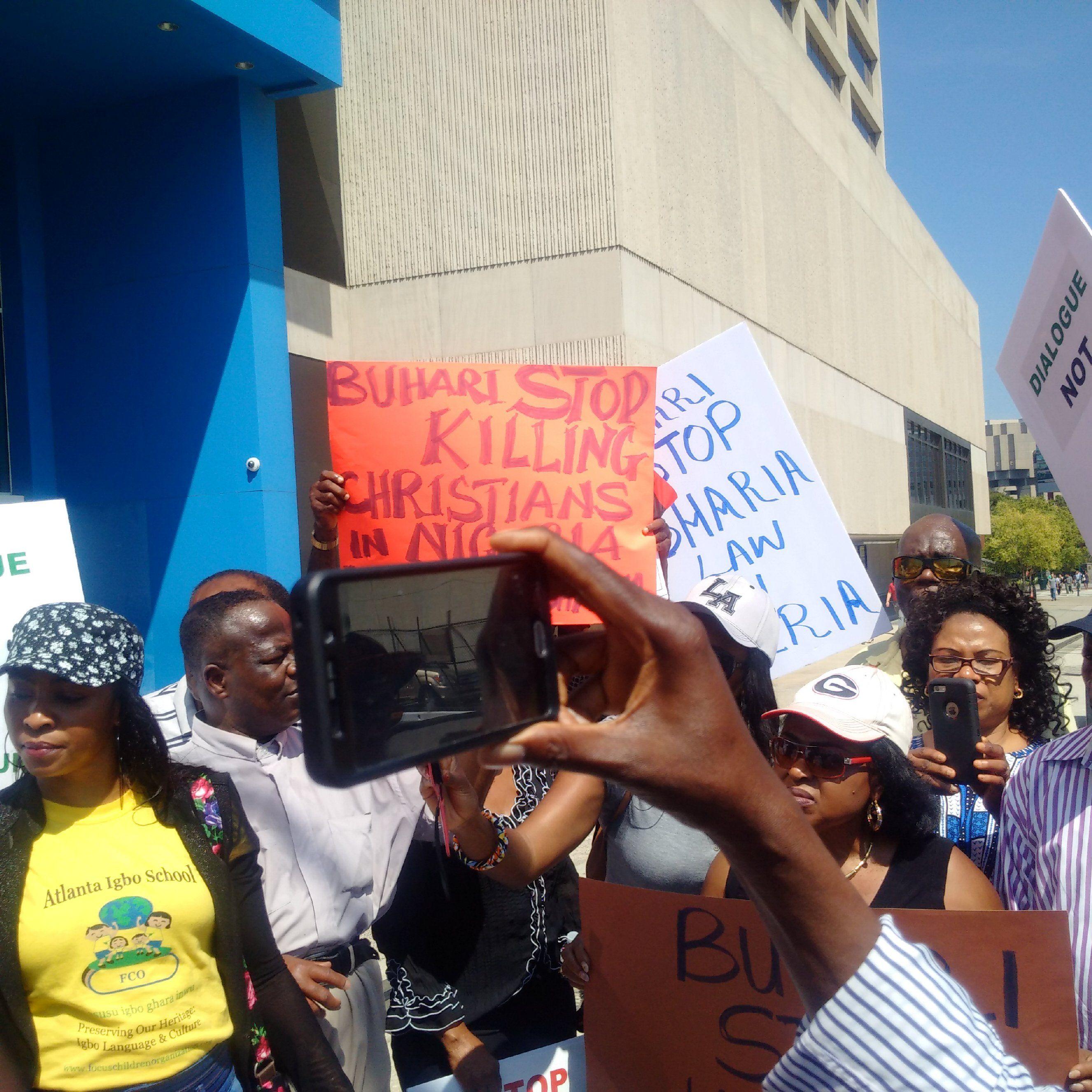 Pin On Nigerians Rally In Atlanta Against Killing Of Christians In Nigeria