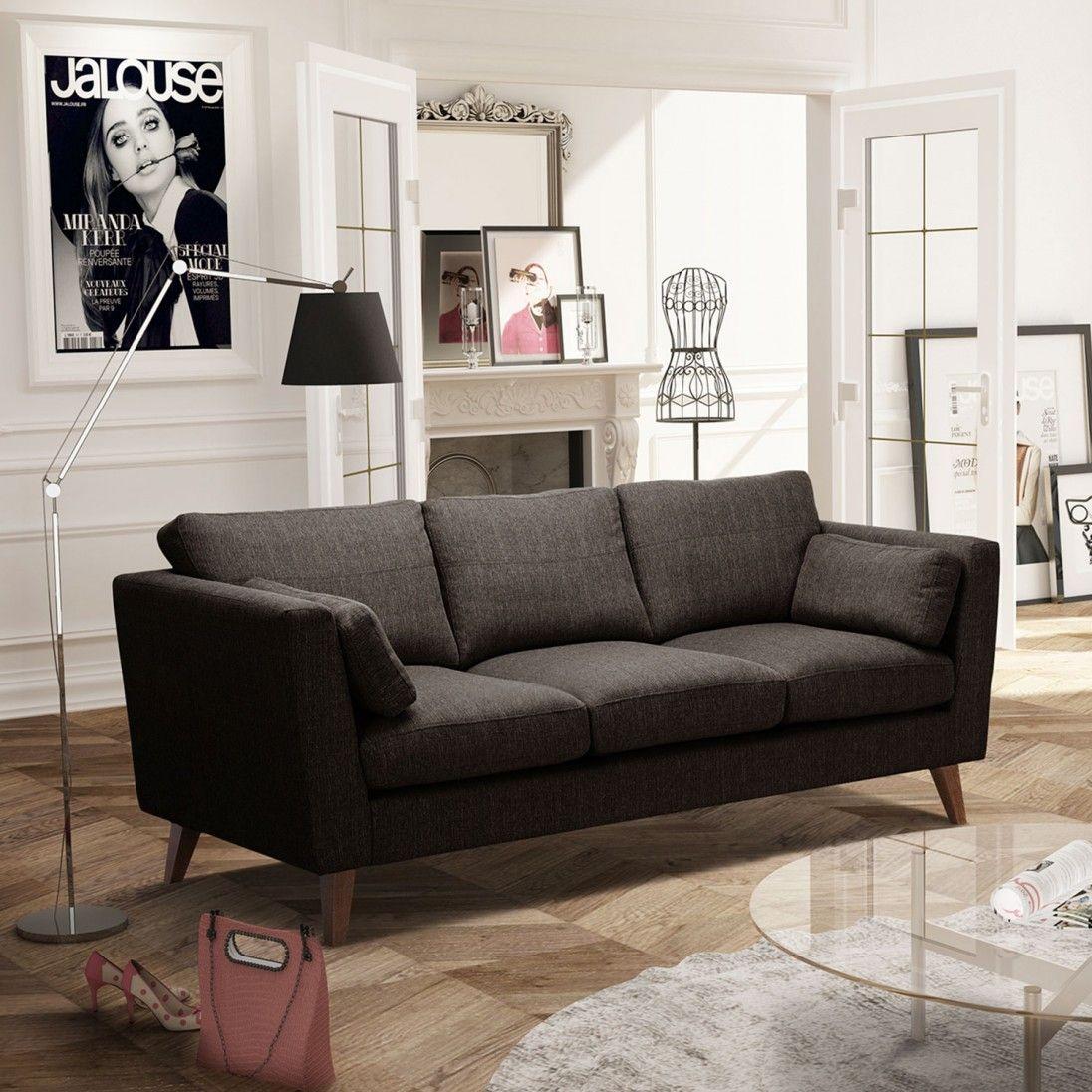 Elisa 3-Sitzer - Dunkelgrau Jalouse Maison | Interior Design ...