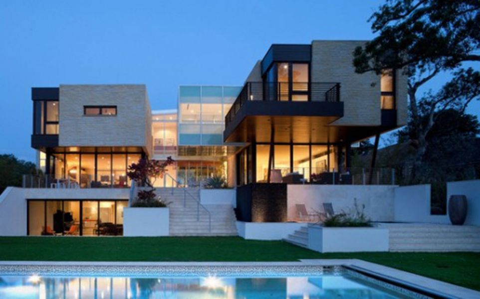 Modern Architecture House impressive complexity geometry architecture modern house | my