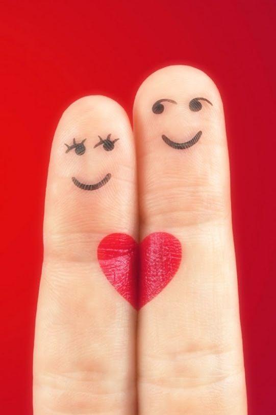 Love Arte De Dedos Amor Dedos Y Amor Verdadero