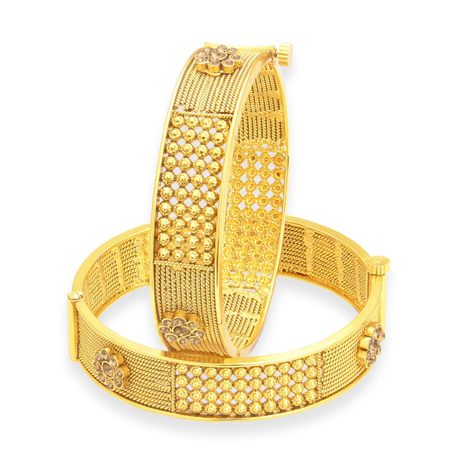 Gold plated bangle for women ankit pinterest gold plated